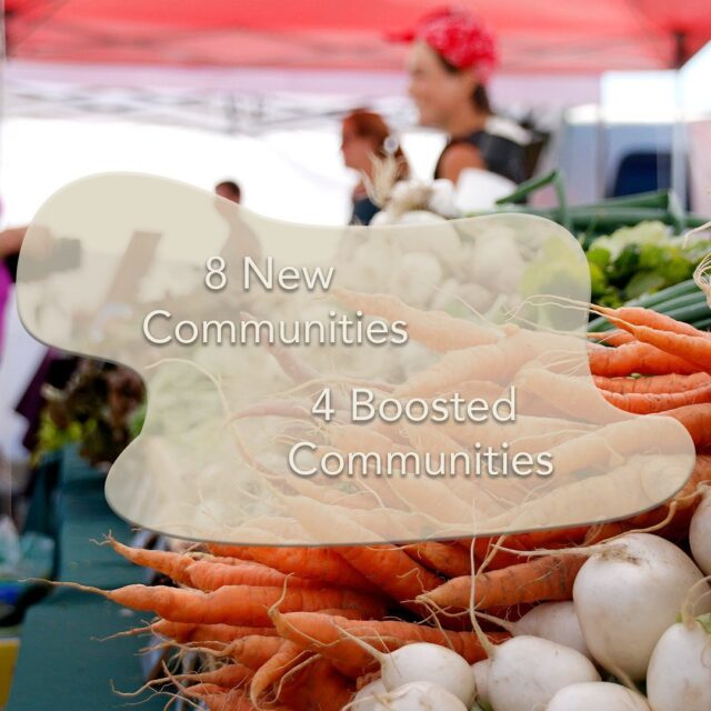 Every single BC Farmers' Market member in the Columbia Basin-Kootenay Rockies proudly participates in the Nutrition Coupon Program, thanks to the Columbia Basin Trust. In 2018, the Columbia Basin Trust committed to bringing every community with a member market into the program, and boosting the families supported in existing communities. This led to 8 brand new communities joining the program and 4 getting a generous boost to their existing programs. More families and seniors and elders are now supported in this region and we are grateful for their support.  Learn more about the program on our website! 🥦 http://bcfarmersmarket.org/coupon-program/how-it-works