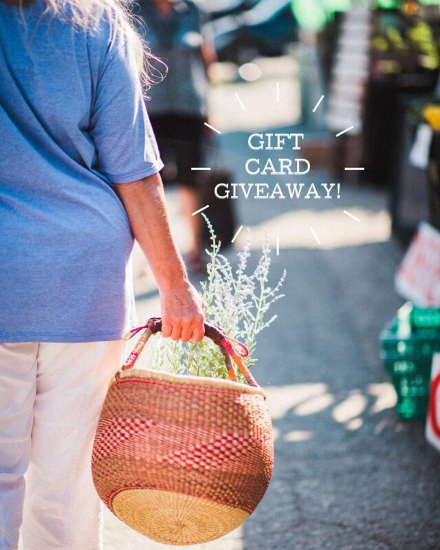 Hey farmers' market shoppers and friends: Don't forget to enter our mini-giveaway! 🍓   We are giving away 3 gift cards at $25 value each that you can use at any BCAFM member farmers' market.  To enter: (1) Post a photo of any artisan product, produce, sauces, prepared food or a recipe you've made using these items that you got from a BCAFM member farmers' market.  (2) Tag us @bcfarmersmarket+ the BCAFM member farmers' market you visited + the vendor/s or brands on your photo   🥦 The more markets and vendors you tag, the better! Enter until September 6th.  🤗 Share our giveaway with your friends!   #BCFarmersMarkets #BCFarmers #EatLocal #ShopLocal #EatDrinkBC #BuyBC #LocalFood #sharebc #discoverbc