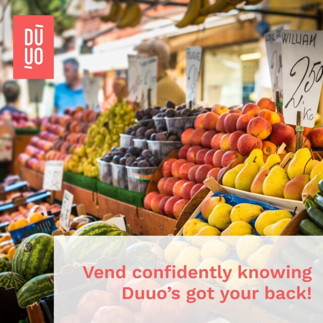Reminder to BC farmers' markets vendors: you can get 1-day or flex pass insurance with @heyduuo 😌   Duuo provides on-demand coverage for casual BCAFM vendor members, so you can get affordable coverage for farmers' markets and other events you'll be vending at, just for the days you need it.   BCAFM vendor members enjoy preferred pricing! Learn more in our bio 💛