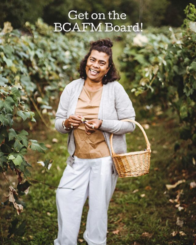 Hey farmers' market friends, the BCAFM Board is now accepting nominations! (Link in our bio) 😊  BCAFM is seeking skilled leaders and innovators in the BC farmers' market sector to join our board. If you're passionate about shaping the future of farmers' markets, communities and food systems across BC, and would like to contribute your expertise and time to serve on the BCAFM board, apply through the link in our bio until January 8, 2022.   We look forward to hearing from you! 🌻  #FarmersMarketsCount #LoveMyMarket #WhyFarmersMarkets #FarmersMarkets #BCFarmersMarket #BCFarmersMarkets #discoverBC #shareBC